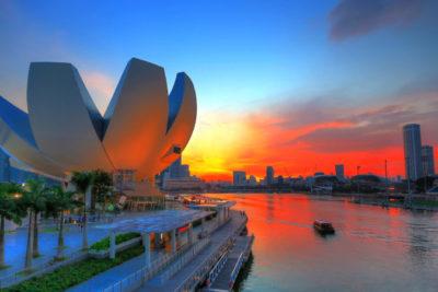 ArtScience Museum in Singapur Copyright Singapore Tourism Board