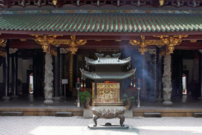 Der Thian Hock Kheng Temple in Singapur Copyright Singapore Tourism Board