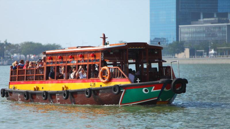 Boot Singapur River